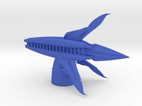 Minbari - Tinashi Frigate (4.64 x / 1.972 y / 2.91 in Blue Processed Versatile Plastic