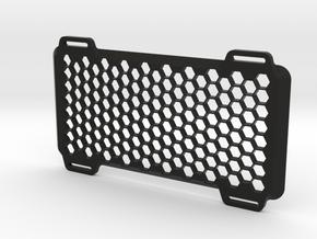 60° Egg Crate/Honeycomb for The Tile Light in Black Natural Versatile Plastic
