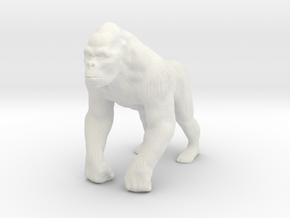 Printle Thing Gorilla - 1/43.5 in White Natural Versatile Plastic