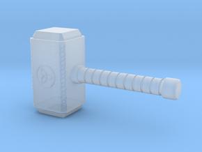 1/24 Diorama Hammer - Thor in Smoothest Fine Detail Plastic