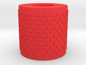 Sperzel Tuning button in Red Processed Versatile Plastic