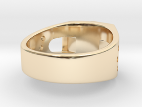 Bitcoin Ring in 14K Yellow Gold: 7 / 54