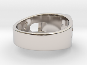 Bitcoin Ring in Platinum: 7 / 54