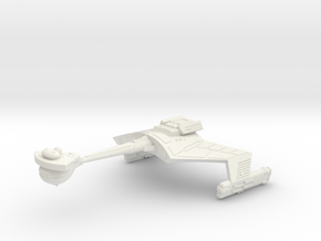 3788 Scale Klingon D7K Refitted Battlecruiser WEM in White Natural Versatile Plastic