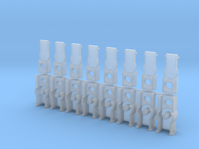 Standard True Scale Coupler Box in Smoothest Fine Detail Plastic