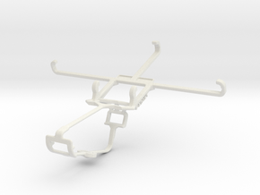 Controller mount for Xbox One & Huawei Mate 10 Pro in White Natural Versatile Plastic