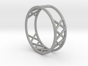 XXX Ring Size  [ 13 ] in Aluminum