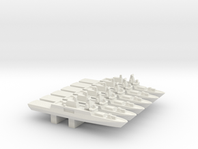 ORP Ślązak (2015) x 6, 1/3000 in White Natural Versatile Plastic