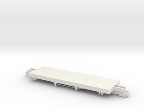 ET&WNC Caboose 505 Frame in White Strong & Flexible: 1:48 - O