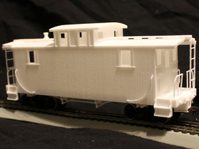 ET&WNC Caboose 505 Body in White Strong & Flexible: 1:48 - O