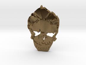 Joker - Squad Skull in Natural Bronze
