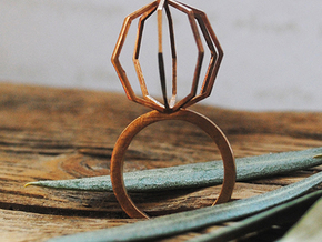 Ngon Ring size 9 in Natural Bronze