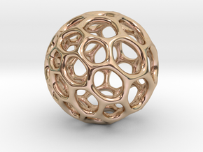 Gaia-50 (from $12) in 14k Rose Gold Plated Brass