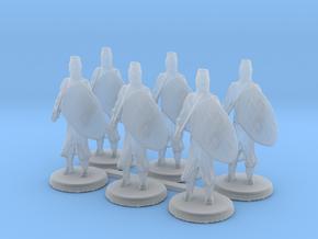 Templar Knights in Smooth Fine Detail Plastic