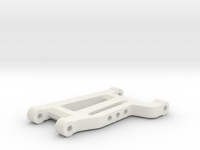 Mardave Meteor Wishbone Front Long in White Strong & Flexible