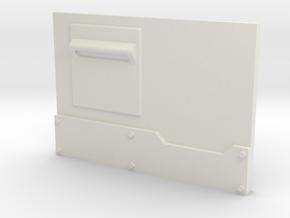 """Metal Box APC"" front panel in White Natural Versatile Plastic"