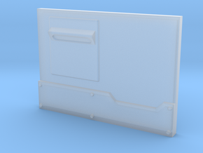 """Metal Box APC"" front panel in Smooth Fine Detail Plastic"
