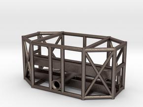 """11"""" Eagle Transporter Leg Pod Frame in Polished Bronzed Silver Steel"""