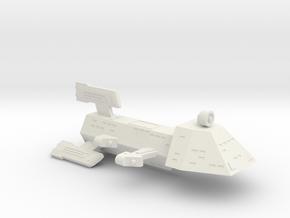 3125 Scale Kzinti Destroyer (DD) SRZ in White Natural Versatile Plastic