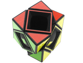 Deep Skewb in White Strong & Flexible