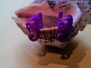 Chapter 3: He is giving birth! Cufflinks in Purple Processed Versatile Plastic