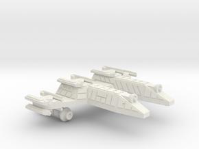 3125 Scale Lyran PF/Gunboat Tender CVN in White Natural Versatile Plastic