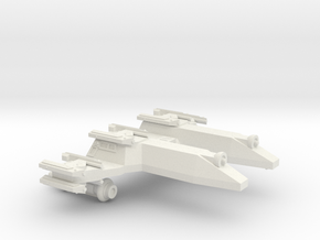 3125 Scale LDR PF/Gunboat Tender CVN in White Natural Versatile Plastic