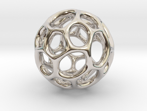 Gaia-30 (from $12) in Rhodium Plated Brass