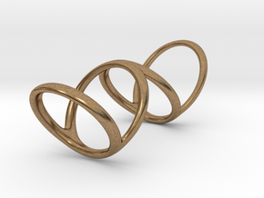 Ring for Bob L1 1 1-4 L2 1 3-4 D1 8 D2 9 3-4 D3 10 in Natural Brass