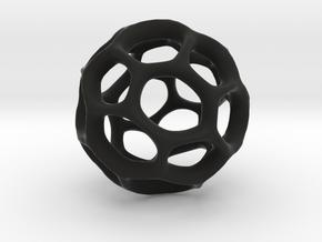 Gaia-25-deep (from $19.90) in Black Premium Versatile Plastic