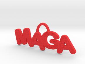 MAGA Texture Horizontal Pendant in Red Processed Versatile Plastic