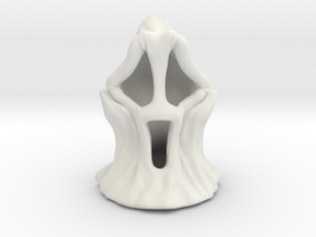 Scared Ghost in White Natural Versatile Plastic