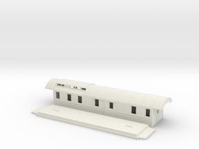 DFo7 - Swedish passenger wagon in White Natural Versatile Plastic
