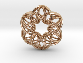 Magic-6h (from $12) in 14k Rose Gold Plated Brass