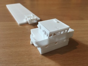 Supplier NVG6, Superstructure (1:200, RC) in White Processed Versatile Plastic