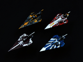 Delta-7 Variants 4pack 1/270 in Frosted Extreme Detail