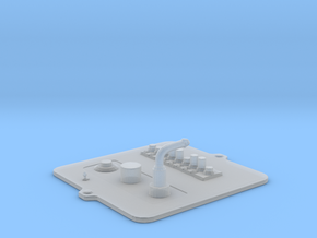Button Box M1-ProC Type - 1/10 in Smooth Fine Detail Plastic