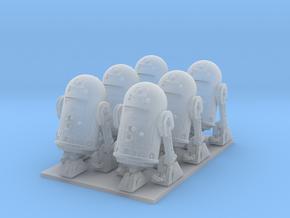 1/72 Spaceship Diorama Robots in Smooth Fine Detail Plastic