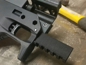 SRU PDW Front Rail Mod in Black Natural Versatile Plastic