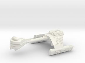 3125 Scale Klingon F5B Frigate WEM in White Natural Versatile Plastic
