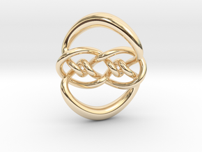 Knot 10₁₂₀ (Circle) in 14K Yellow Gold: Extra Small
