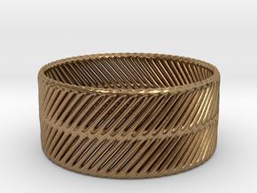 RING_TIS_CYLINDER_05bb in Natural Brass: 9 / 59