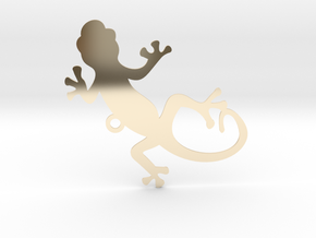 gekko in 14k Gold Plated Brass
