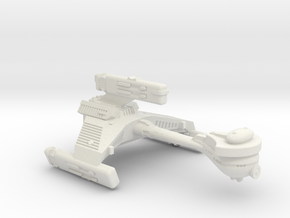 3125 Scale Klingon F6B Battle Frigate WEM in White Natural Versatile Plastic