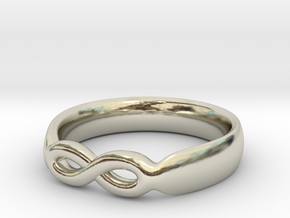 Infinity Ring in 14k White Gold: 7 / 54