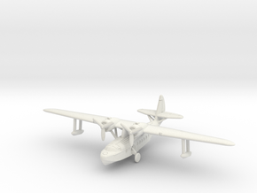 Sikorsky S-43 1/285 & 1/288 scale with u/c down in White Natural Versatile Plastic: 6mm