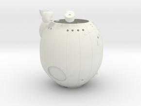 Soyuz WSF2-1.48 in White Natural Versatile Plastic