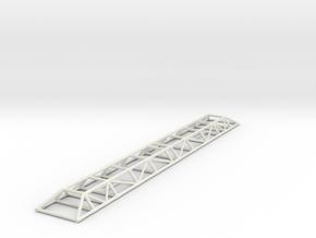 "11"" Scale Eagle Transporter Spine in White Natural Versatile Plastic"