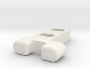 Gitterrostführung-2 in White Strong & Flexible