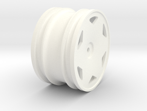 Tamiya NeoFighter rear wheel in White Processed Versatile Plastic
